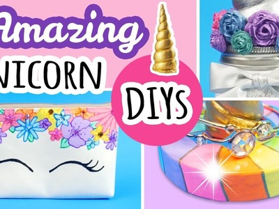 3 Magical Unicorn Themed DIYS | Unicorn Decor