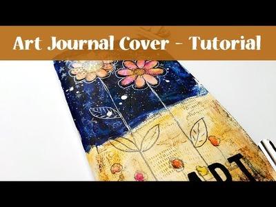 Art Journaling in my Traveler's Notebook