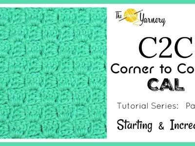 Crochet c2c, Part 1 c2c entralac crochet tutorial, Part 1