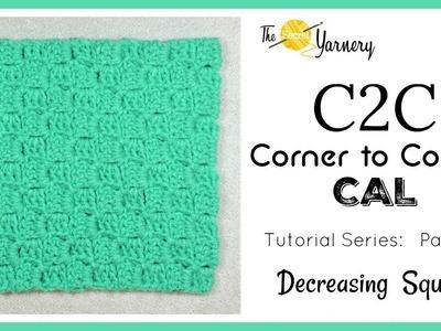 C2C Corner to Corner CAL - Part 3 - Decreasing into a Square