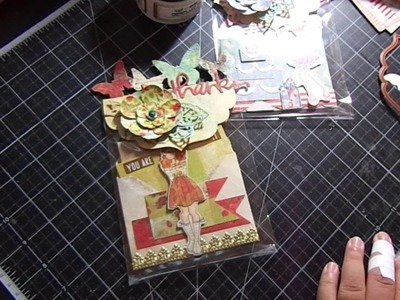 Create fun Bag Toppers with your On The Edge Dies