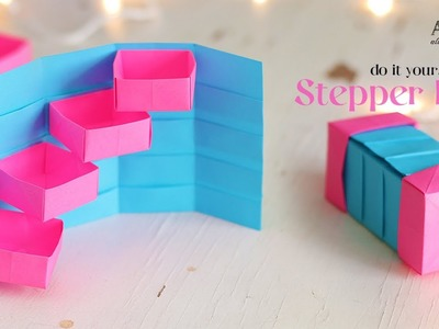 DIY Stepper Box | Paper Craft | Secret Box