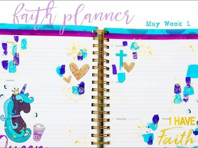 Faith Planner | May Week 1 | #revealyourteal