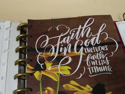 Happy Planner for April 2018