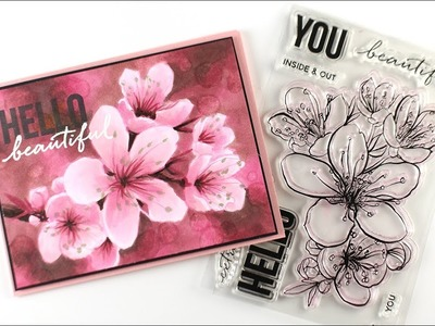 How to color Mondo Sakura with Copic bokeh background
