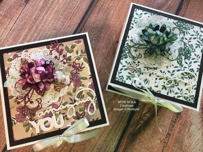How to create a Stampin' Up! Keepsake Memory Box