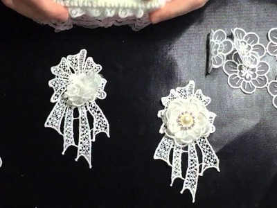 How to make easy lace embellishments