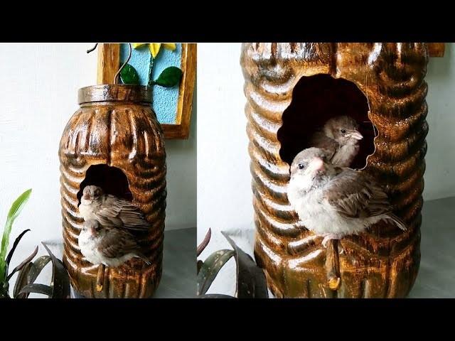 How to make gauraiya Bird house very easy