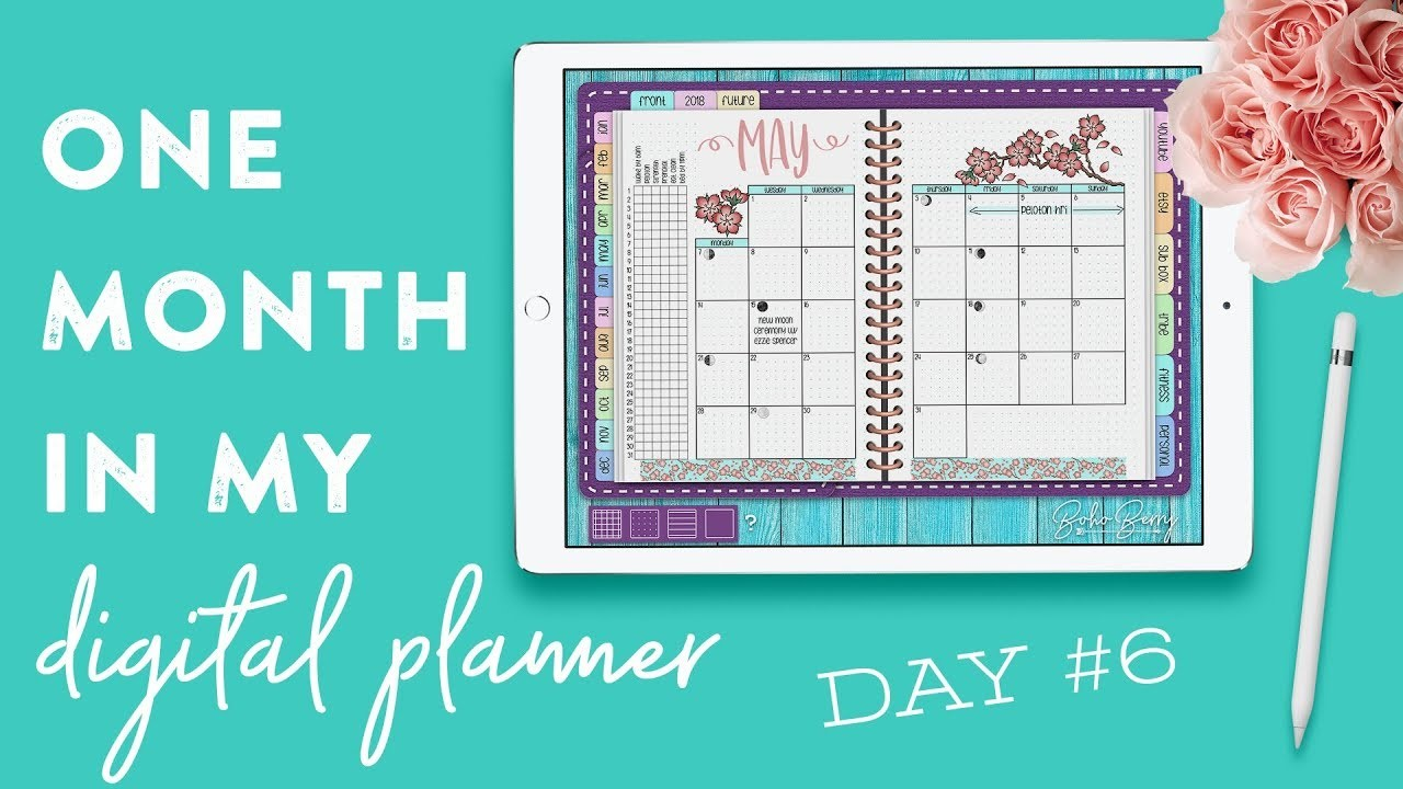 One Month in my Digital Planner: Day 6