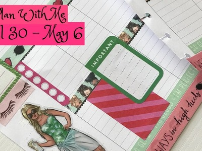Plan with Me April 30- May 6 in Classic Happy Planner