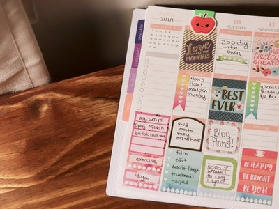 PLAN WITH ME | PLUM PAPER PLANNER