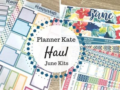 Planner Kate Haul | June Kits |