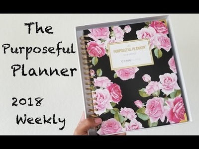 Planner Review: The Purposeful Planner by Corie Clark + giveaway winner!!!