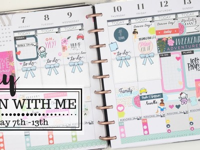 Weekly Plan With Me! CLASSSIC HAPPY PLANNER | May 7th - 13th | At Home With Quita
