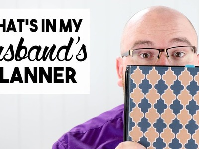What's in My Husband's Planner?! | Planning for Men