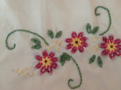 35- Hand Embroidery   Brazilian Embroidery