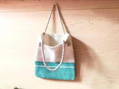 Crochet A Tote Bag | Truc Nguyen Handmade.