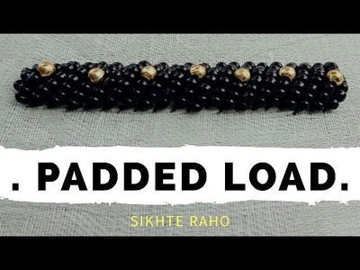 Padded load stitch for beginners    Aari Work    Hand Embroidery