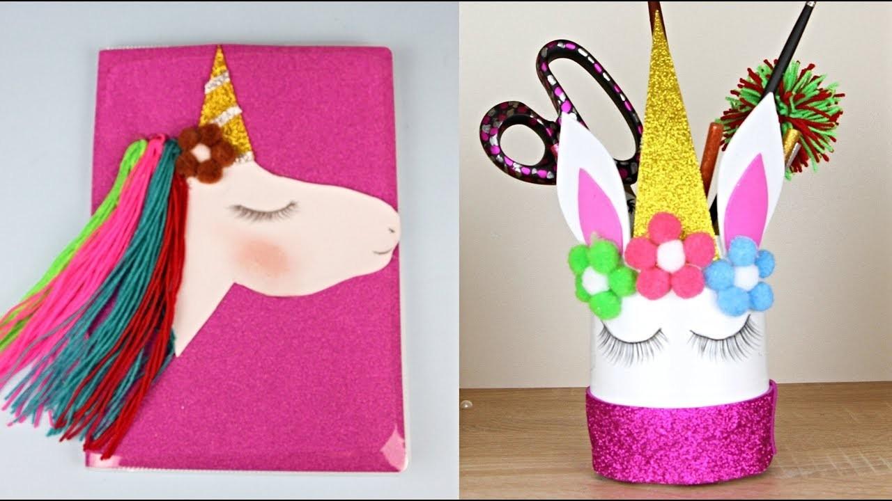 Amazing Unicorns DIYs! Easy Crafts Ideas at Home - Super Cute!