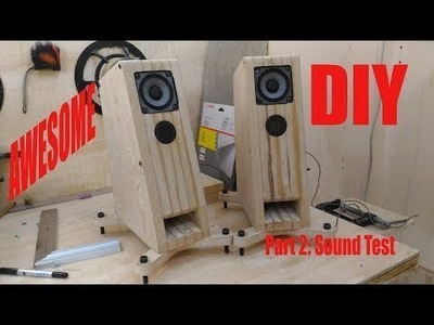 AWESOME DIY SPEAKER | diy speaker (Part 2)
