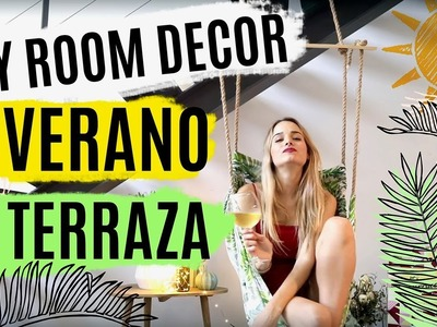 DIY ideas para decorar la terraza | ROOM DECOR VERANO