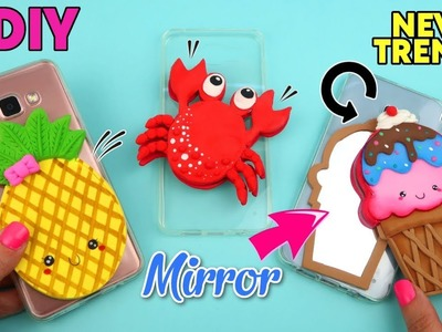 DIY New trend in phone cases WITH MIRROR !! DIY PHONE CASES IDEAS and HACKS