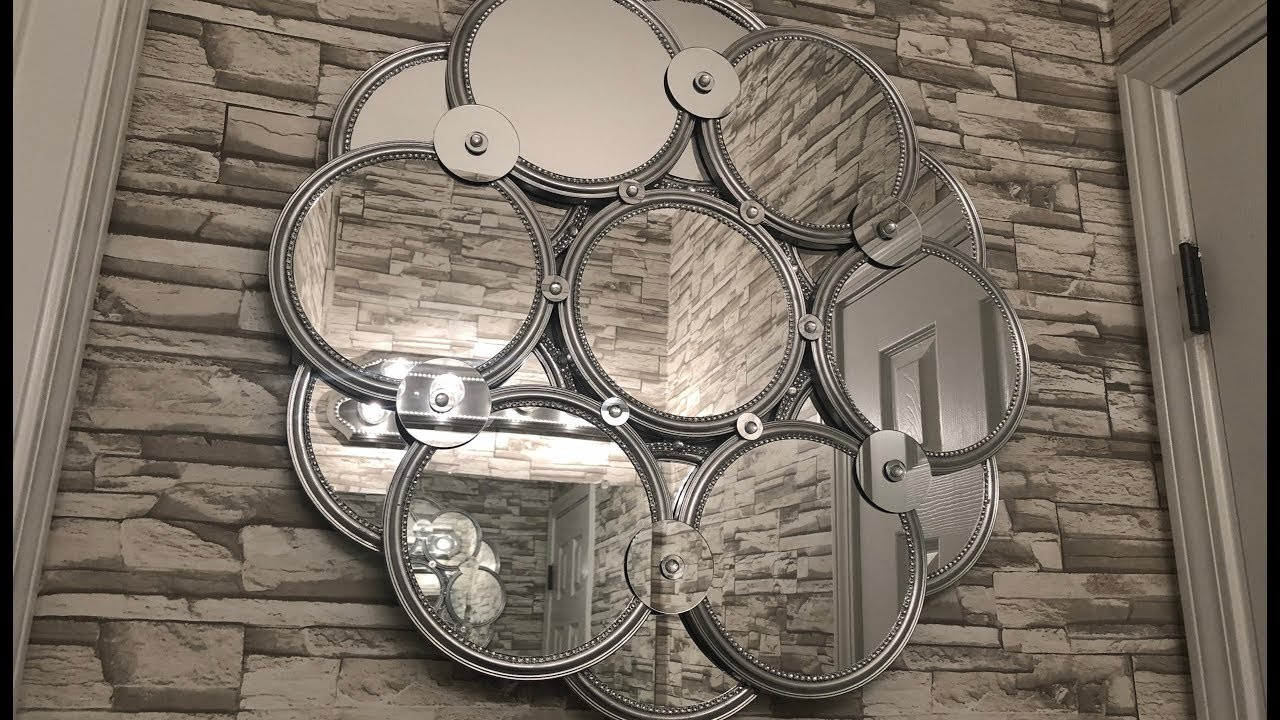 "Dollar Tree DIY ||???? Huge 28"" Decorative Wall Mirror"