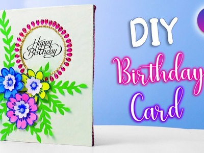 How to make beautiful handmade Birthday card at home | unique card #Birthday card | Artkala