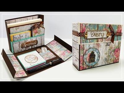 Scatola Organizer da Scrivania Fai da te - Stationery Box DIY