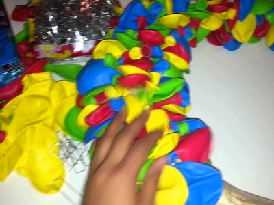 Sesame street how to balloon wreath