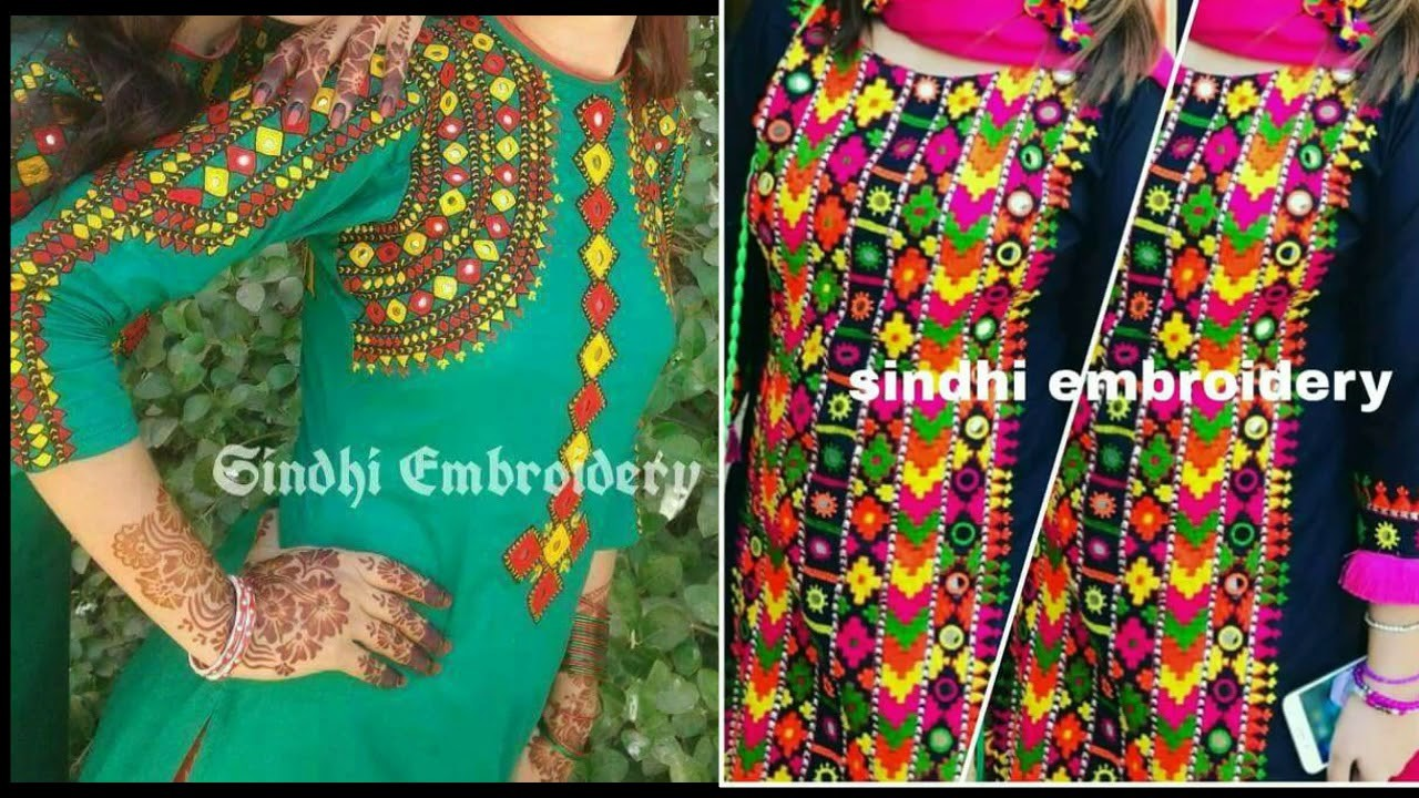 Sindhi embroidery dress design: passionpk sindhi ralli quilt. new