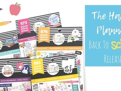 The Happy Planner   Back To School Release 2018