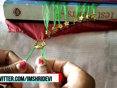 Baby Kuchu making with Flower Beads I Baby Tassels Design I Ladies Club