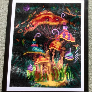 Diamond Fairy House Picture Art Painting - Fundraising Project