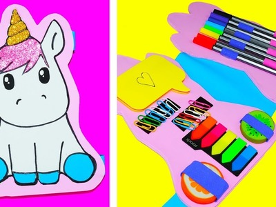 ???? DIY | Amazing Unicorn | How to make a pencil case Unicorn