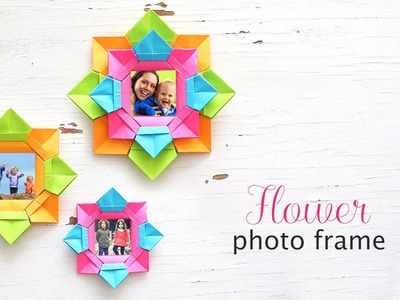 DIY Flower Photo Frame | Photo Frame Gift Ideas | DIY Photo Frame
