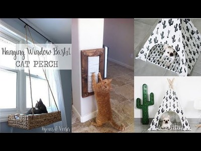 DIY ROOM DECOR! 10 DIY Projects For dog and cat Owners