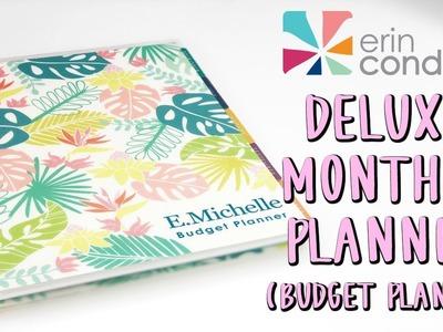 Erin Condren Monthly Deluxe Planner Unboxing | New Budget Planner | E.Michelle