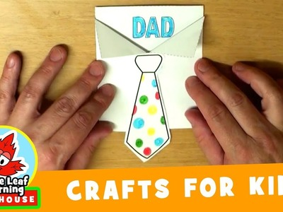 Father's Day Craft for Kids | Maple Leaf Learning Playhouse