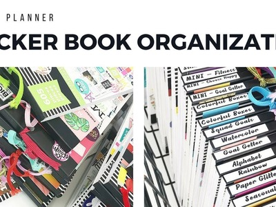HAPPY PLANNER Sticker Storage and Collection | At Home With Quita