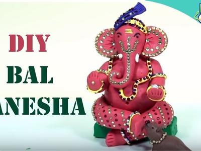 How to Make Eco Friendly Ganesha at Home with Clay | DIY Ganpati Idol | KidsOne Hindi