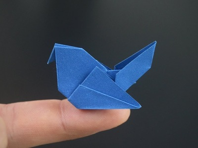 Origami: Simple Pigeon - Instructions in English (BR)