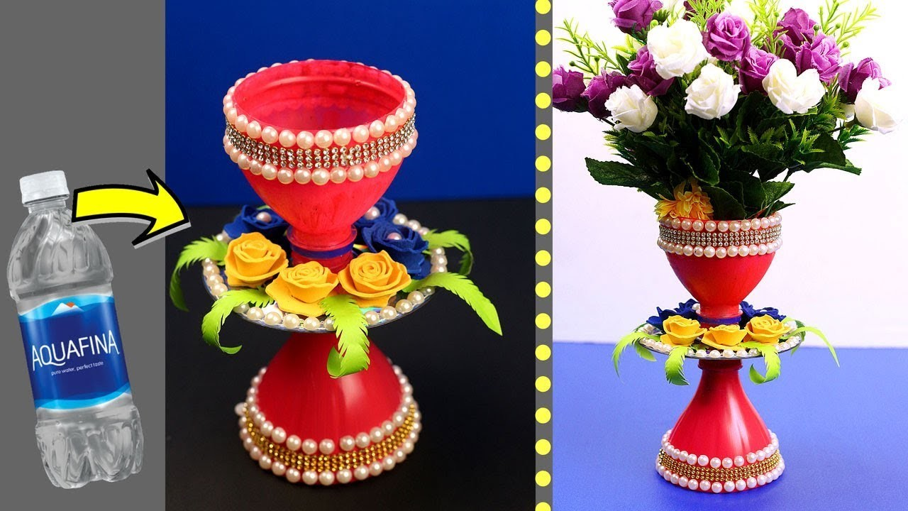 Plastic Bottle Craft Idea Plastic Bottle Reuse Idea Best Out Of