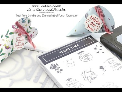 Stampin' Up! Treat Time Bundle and Darling Label Crossover Tips