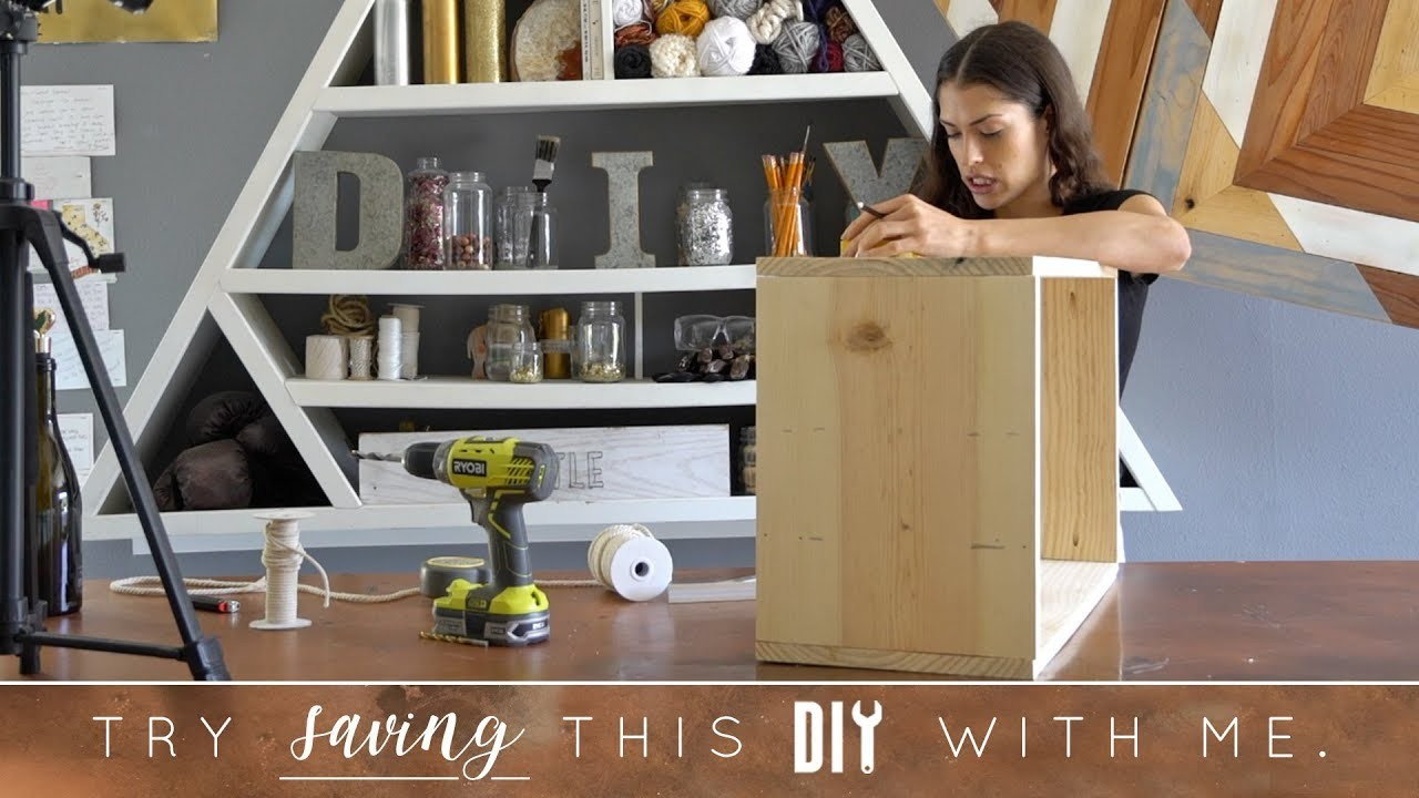 Try to Save This DIY With Me | Wine Holder