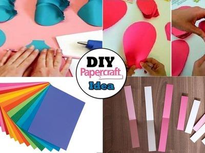 3 diy paper craft decoration idea | decoration idea with paper craft | paper craft ideas