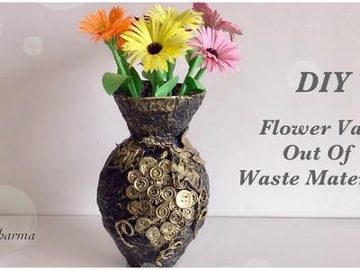 Flower Diy Flower Vase From Plastic Bottle At Home Best Out Of