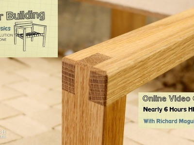 Chair Building - How To Build A Chair With Basic Hand Tools