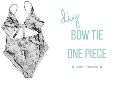 DIY Bow Tie One Piece - Carter Onesie    Katie Fredrickson