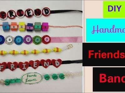 DIY Friendship Bracelets: Friendship Band for Friendship Day 2018,How to make Bracelet.Belt at Home